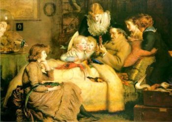 Ruling Passion   Sir John Everett Millais   oil painting