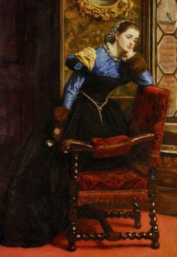 Swallow Swallow   Sir John Everett Millais   oil painting