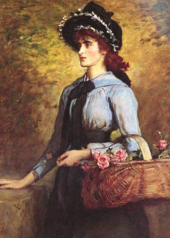 Sweet Emma Morland   Sir John Everett Millais   oil painting
