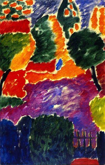 Large Variation | Alexei Jawlensky | oil painting