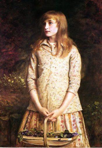Sweetest eyes that were ever seen   Sir John Everett Millais   oil painting