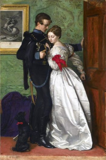 The Black Brunswicker | Sir John Everett Millais | oil painting