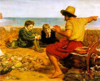 The Boyhood of Raleigh | Sir John Everett Millais | oil painting