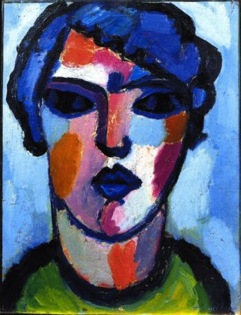 Dark Flame | Alexei Jawlensky | oil painting