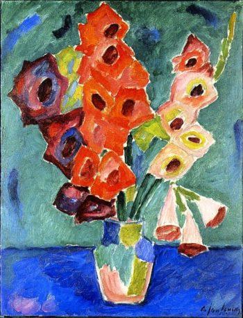 Gladioli | Alexei Jawlensky | oil painting