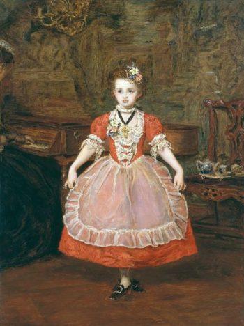The Minuet   Sir John Everett Millais   oil painting