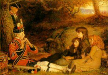 The Piper   Sir John Everett Millais   oil painting