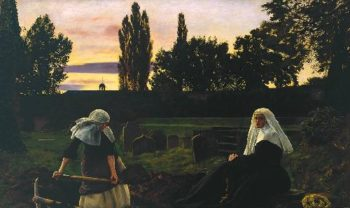The Vale Of Res   Sir John Everett Millais   oil painting