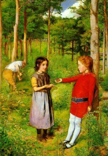 The Woodmans Daughter | Sir John Everett Millais | oil painting