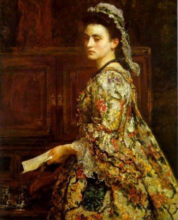 Vanessa   Sir John Everett Millais   oil painting