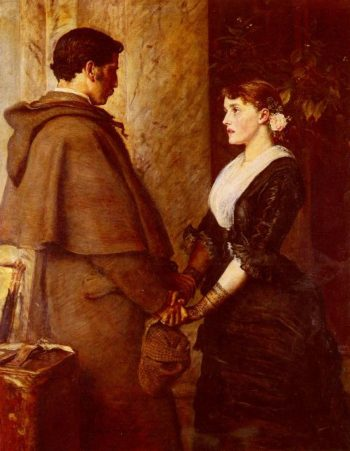 Yes   Sir John Everett Millais   oil painting