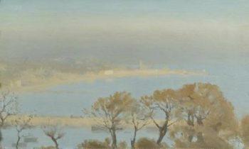 Autumn Mists | Thomas Cooper Gotch | oil painting