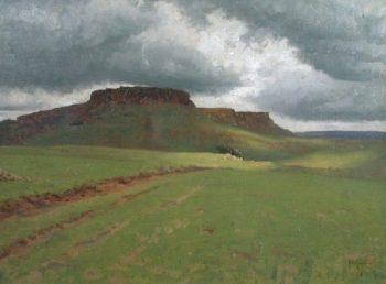 Qua Qua south of Johannesburg | Thomas Cooper Gotch | oil painting