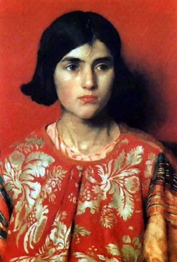 The Exile | Thomas Cooper Gotch | oil painting