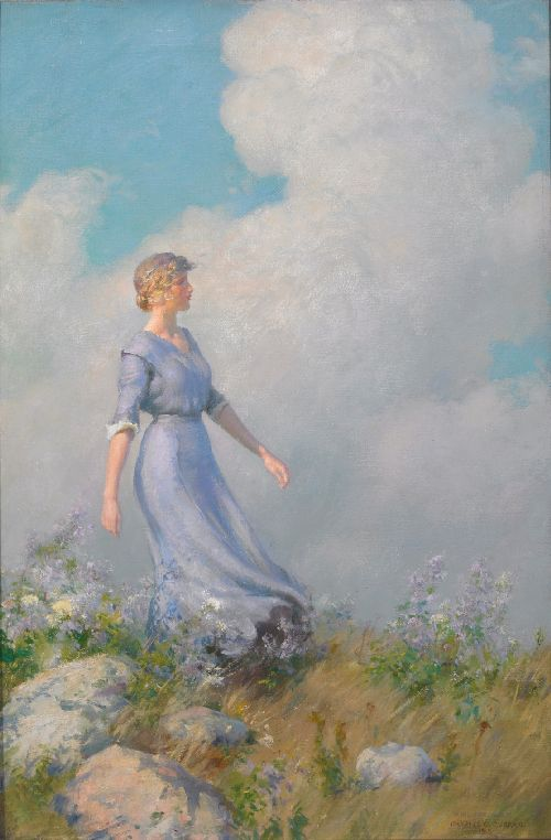 Billows | Charles Courtney Curran | oil painting