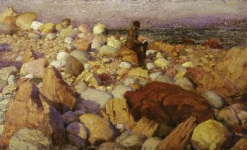 The Artist At Work | Charles Courtney Curran | oil painting