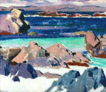 Iona North End | Francis Campbell Bolleau | oil painting