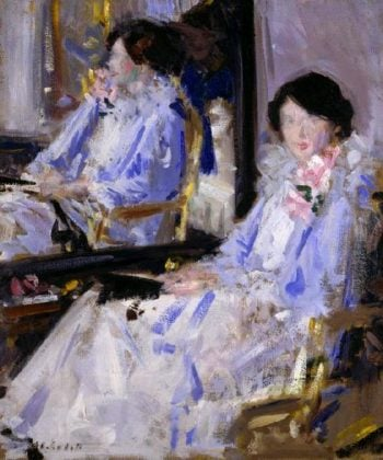 Lady in Blue | Francis Campbell Bolleau | oil painting