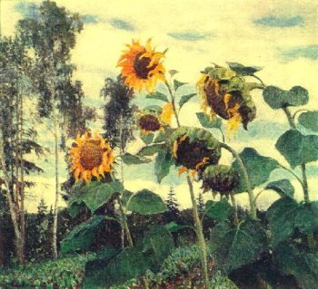 Sunflowers | Igor Grabar | oil painting