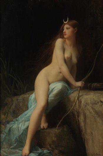 Diana Chasseresse | Jules Joseph Lefebvre | oil painting