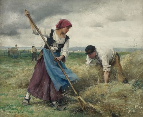 Harvesters | Julien Dupre | oil painting