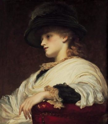 Phoebe | Sir Frederick Lord Leighton | oil painting