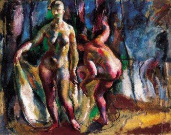 Furdozok | Vilmos Aba Novak | oil painting