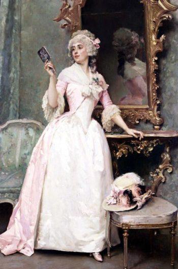 Vanity | Raimundo de Madrazo y Garreta | oil painting