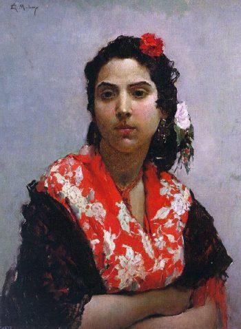 The Gypsy | Raimundo de Madrazo y Garreta | oil painting