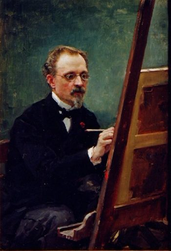 Portrait of Federico de Madrazo painting | Raimundo de Madrazo y Garreta | oil painting