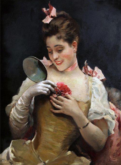 Portrait Of Aline Masson | Raimundo de Madrazo y Garreta | oil painting