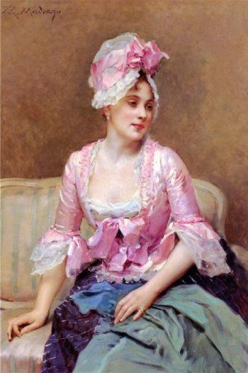 Portrait of Aline Mason | Raimundo de Madrazo y Garreta | oil painting