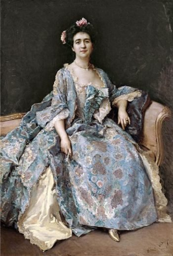 Portrait of a Lady 3 | Raimundo de Madrazo y Garreta | oil painting