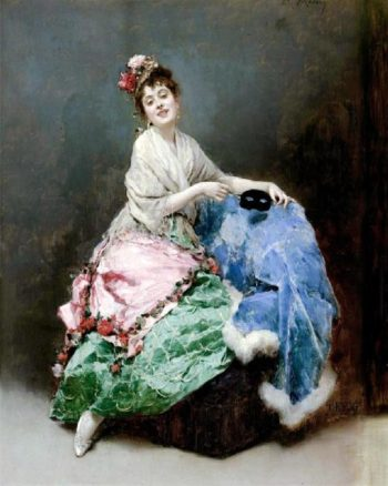 Portrait of a Lady 2 | Raimundo de Madrazo y Garreta | oil painting
