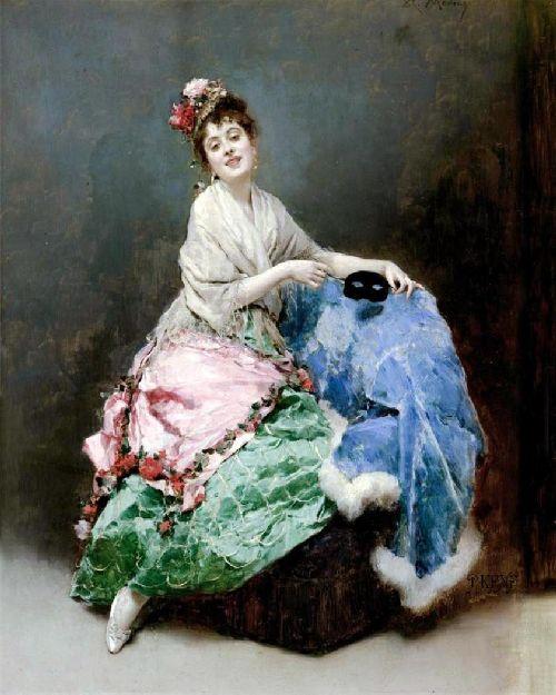 Portrait of a Lady 2   Raimundo de Madrazo y Garreta   oil painting