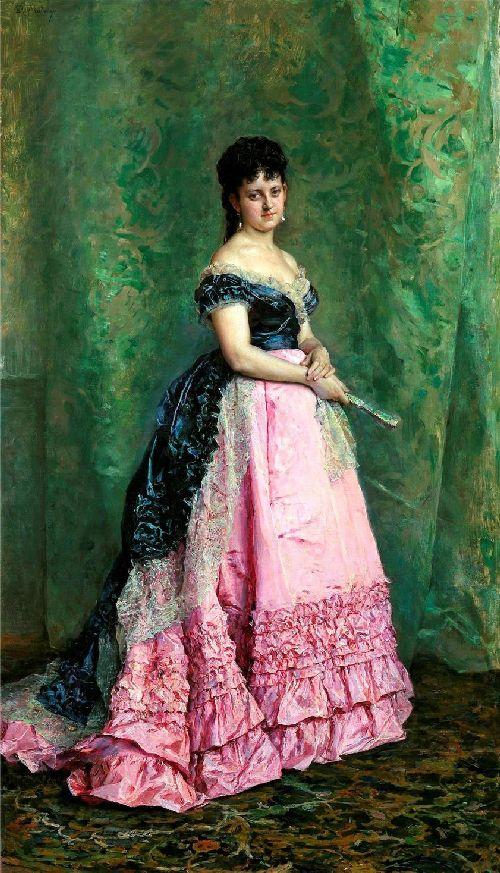 Manuela de Errazu | Raimundo de Madrazo y Garreta | oil painting