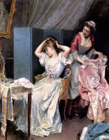 La Toilette | Raimundo de Madrazo y Garreta | oil painting