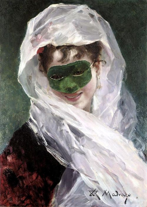 Going to the ball | Raimundo de Madrazo y Garreta | oil painting