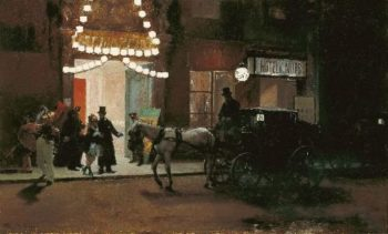 Going out of the masquerade | Raimundo de Madrazo y Garreta | oil painting