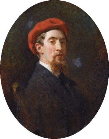 Eduardo Zamacois | Raimundo de Madrazo y Garreta | oil painting