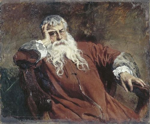 Self portrait | Jean Louis Ernest Meissonier | oil painting