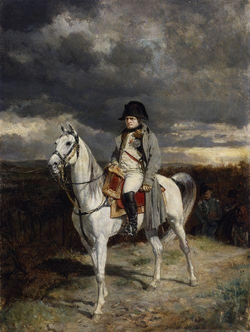 Napoleon I 1814 | Jean Louis Ernest Meissonier | oil painting