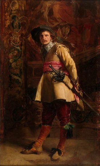 Musketeer | Jean Louis Ernest Meissonier | oil painting