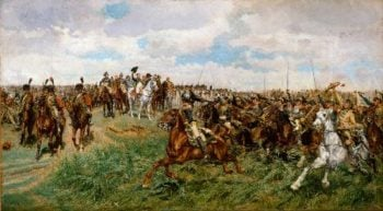 Friedland 1807 | Jean Louis Ernest Meissonier | oil painting