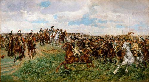 Friedland 1807 | Jean Louis Ernest Meissonier | oil painting
