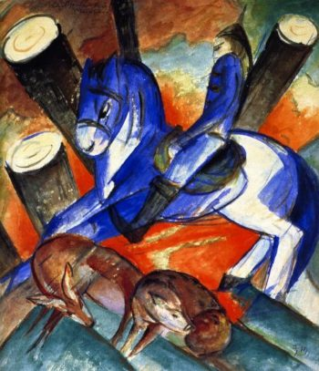 Saint Julian | Franz Marc | oil painting