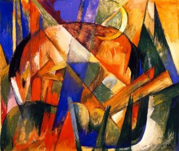 Horse | Franz Marc | oil painting