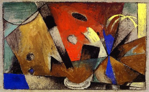 Abstract Composition | Franz Marc | oil painting