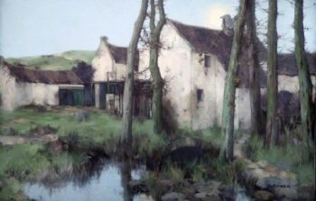 The Old Mill | David Gauld | oil painting