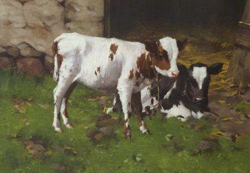 Repose   David Gauld   oil painting